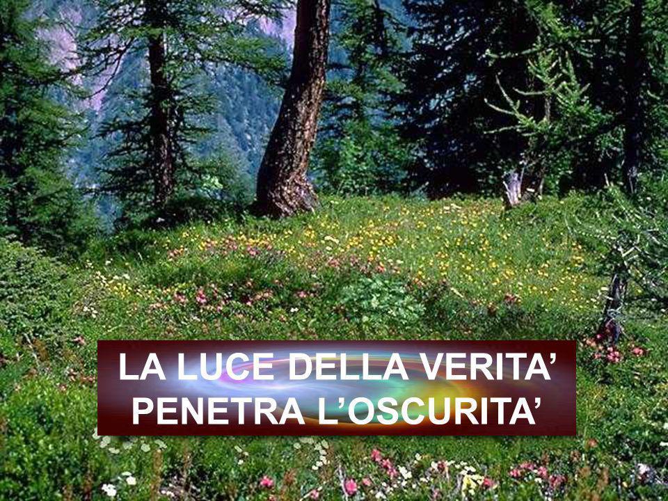 LA LUCE DELLA VERITA' PENETRA L'OSCURITA'