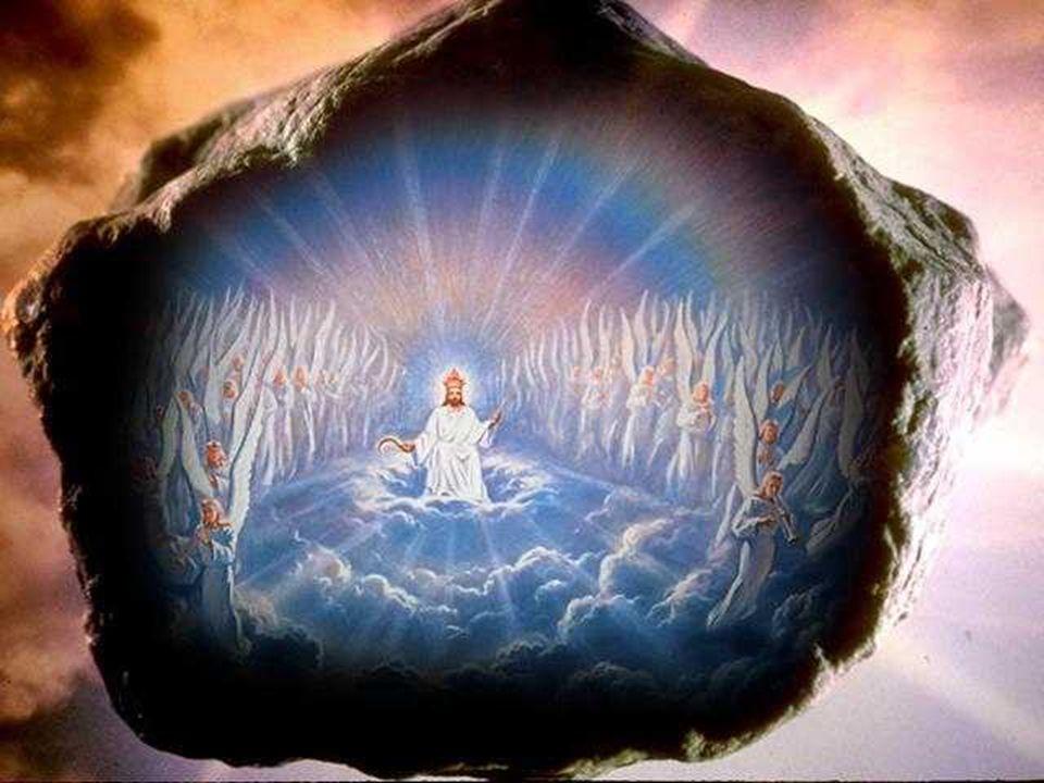 ma la pietra che aveva colpito la statua diventò un gran monte che riempì tutta la terra.