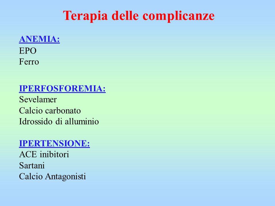 Terapia delle complicanze