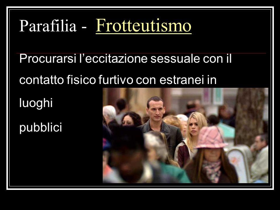Parafilia - Frotteutismo
