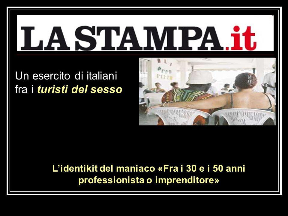 Un esercito di italiani fra i turisti del sesso