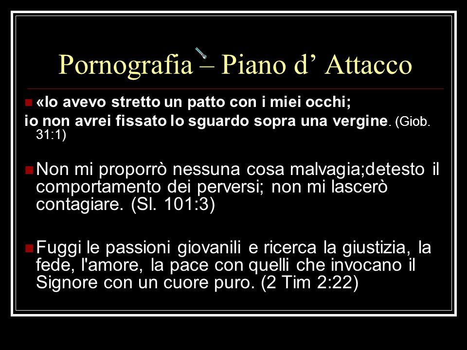 Pornografia – Piano d' Attacco