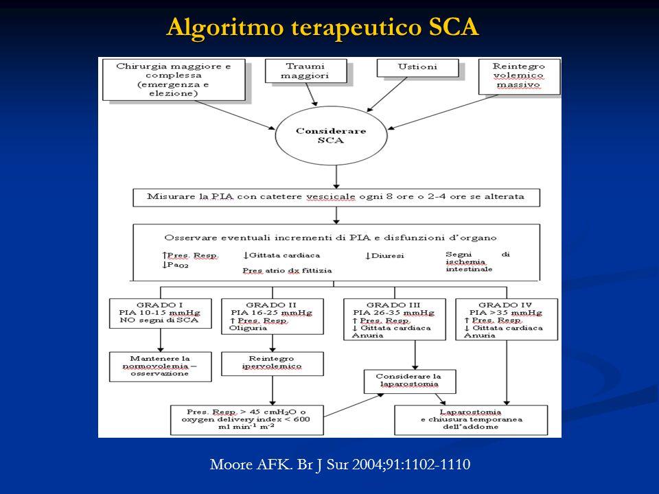 Algoritmo terapeutico SCA