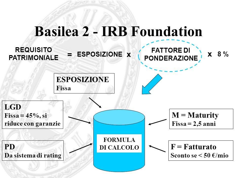 Basilea 2 - IRB Foundation
