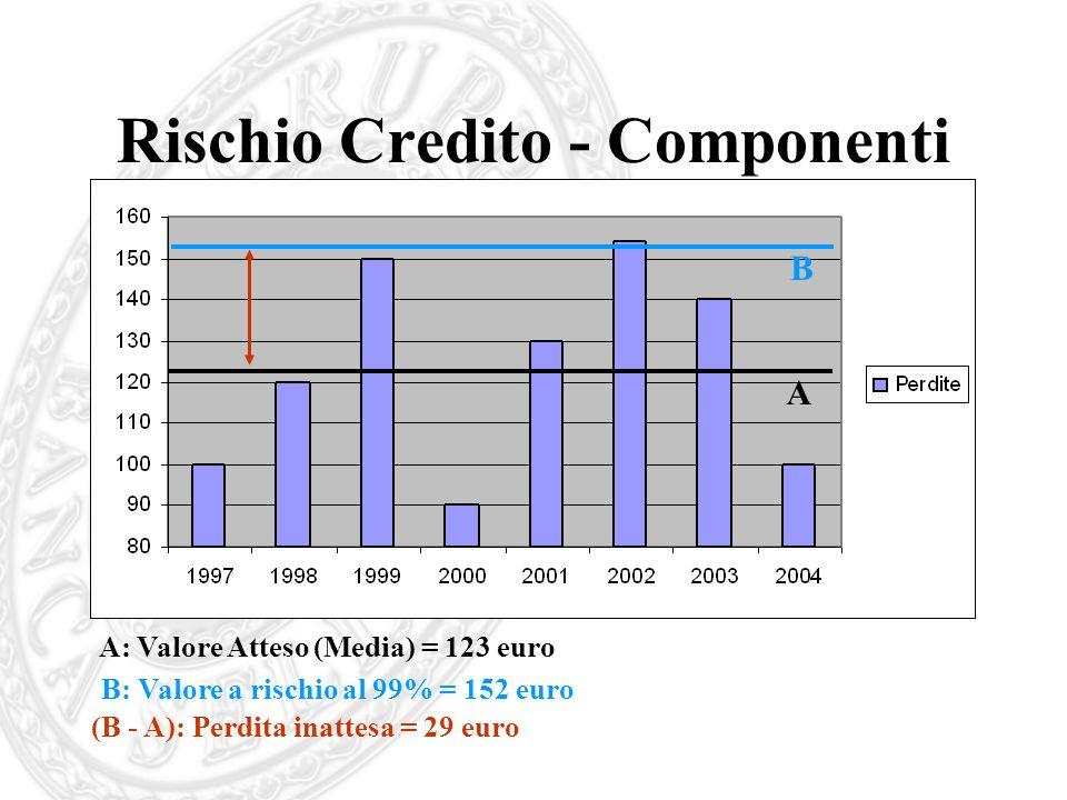 Rischio Credito - Componenti