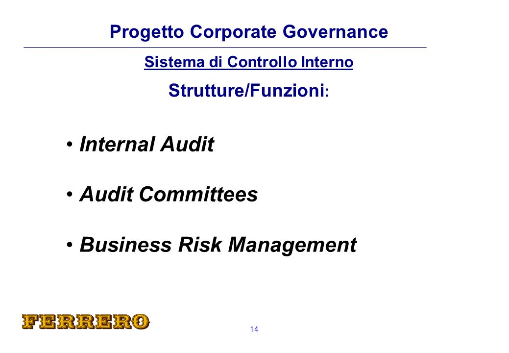 Internal Audit Audit Committees Business Risk Management