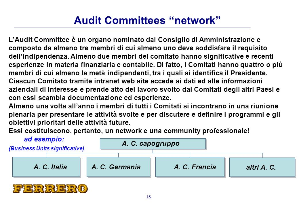 Audit Committees network