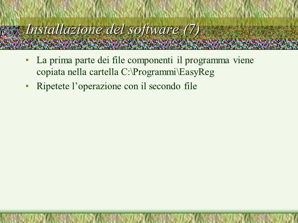 Installazione del software (7)