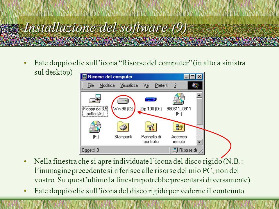 Installazione del software (9)