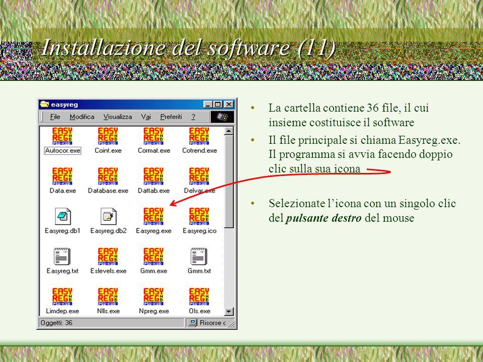 Installazione del software (11)
