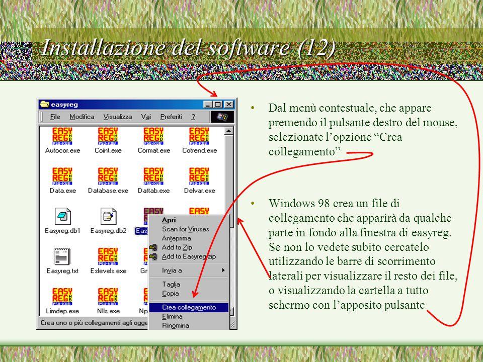 Installazione del software (12)