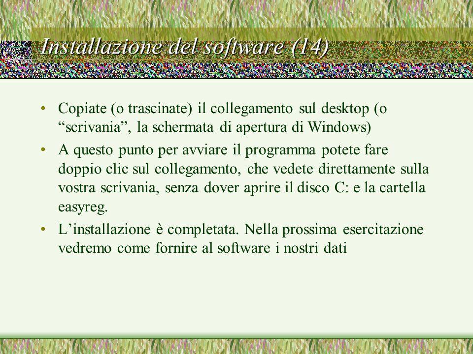 Installazione del software (14)