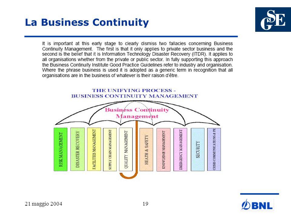 La Business Continuity
