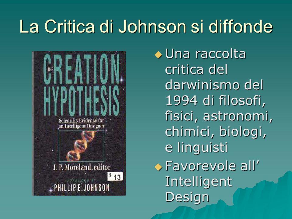 La Critica di Johnson si diffonde