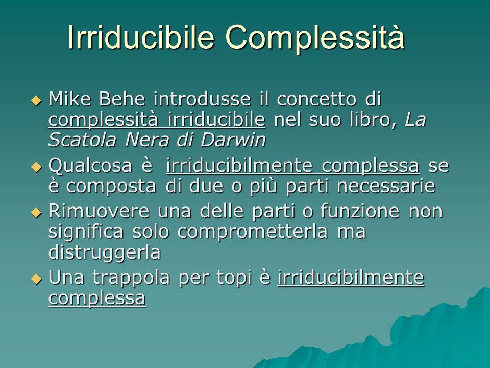 Irriducibile Complessità