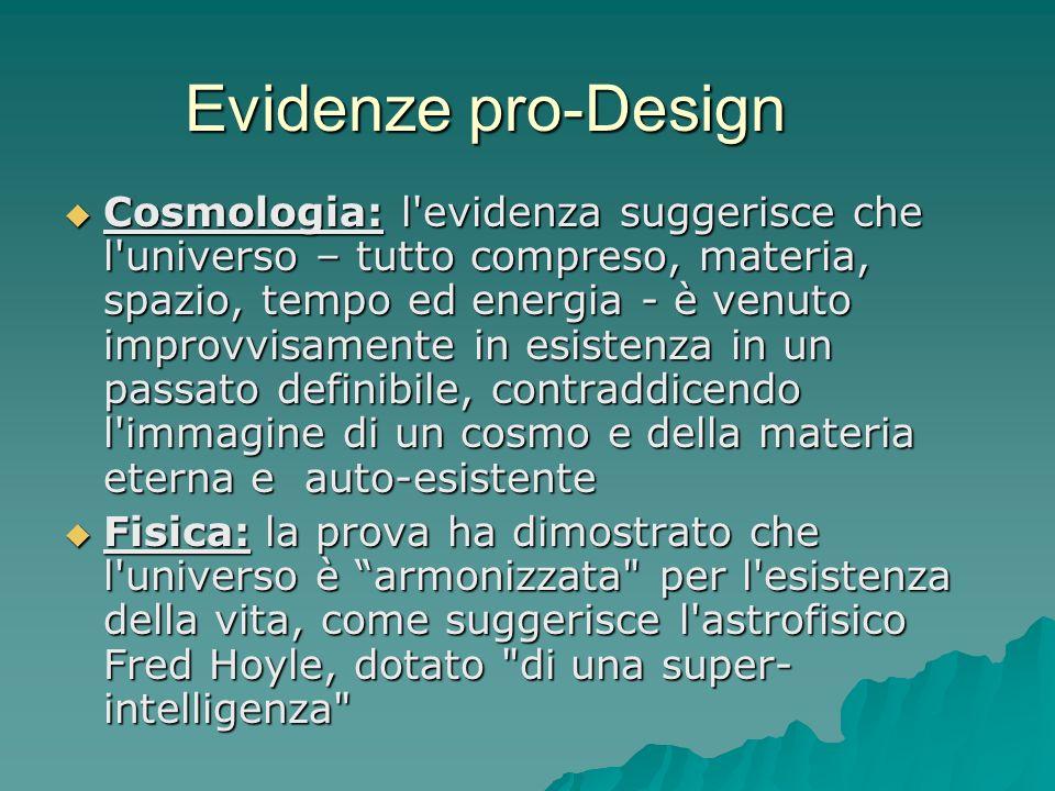 Evidenze pro-Design