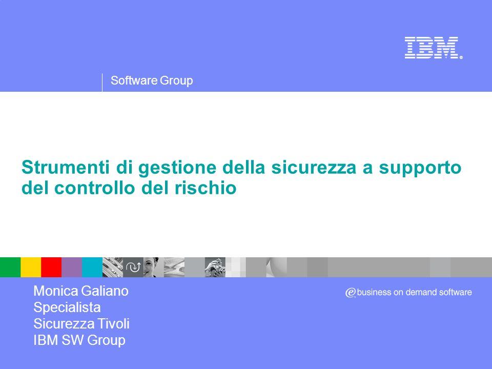 Mills Monica Galiano Specialista Sicurezza Tivoli IBM SW Group