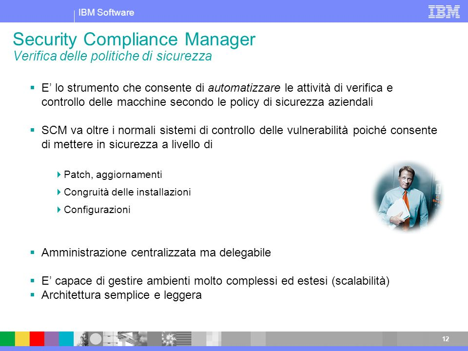 Security Compliance Manager Verifica delle politiche di sicurezza