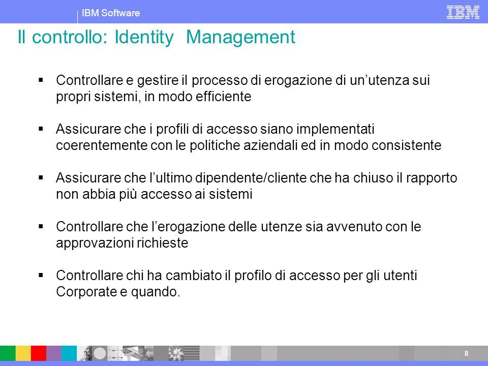 Il controllo: Identity Management