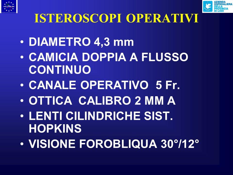 ISTEROSCOPI OPERATIVI
