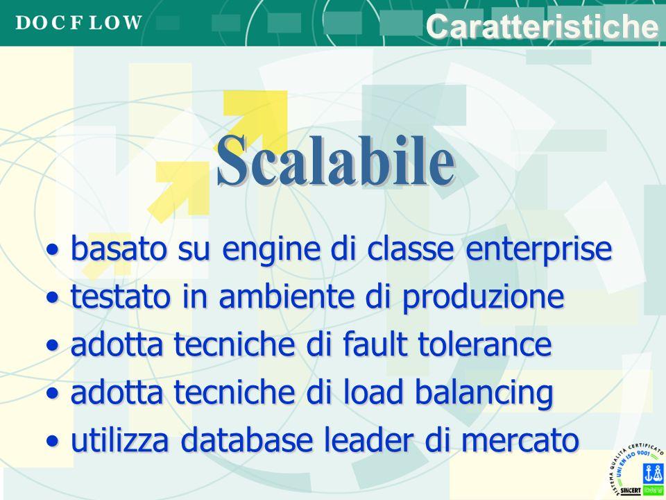 Scalabile Caratteristiche basato su engine di classe enterprise