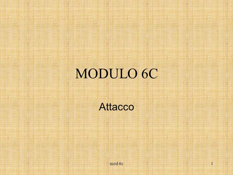 MODULO 6C Attacco mod 6c