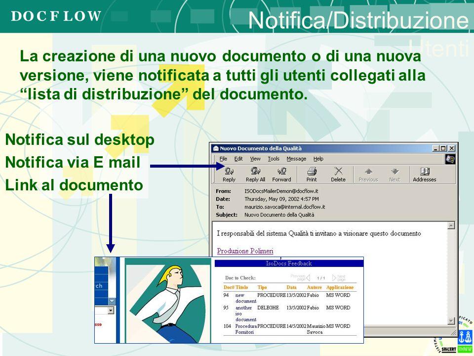 Notifica/Distribuzione Utenti