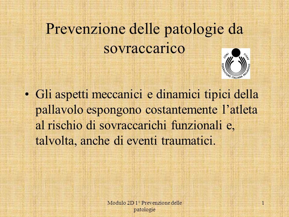 Prevenzione delle patologie da sovraccarico