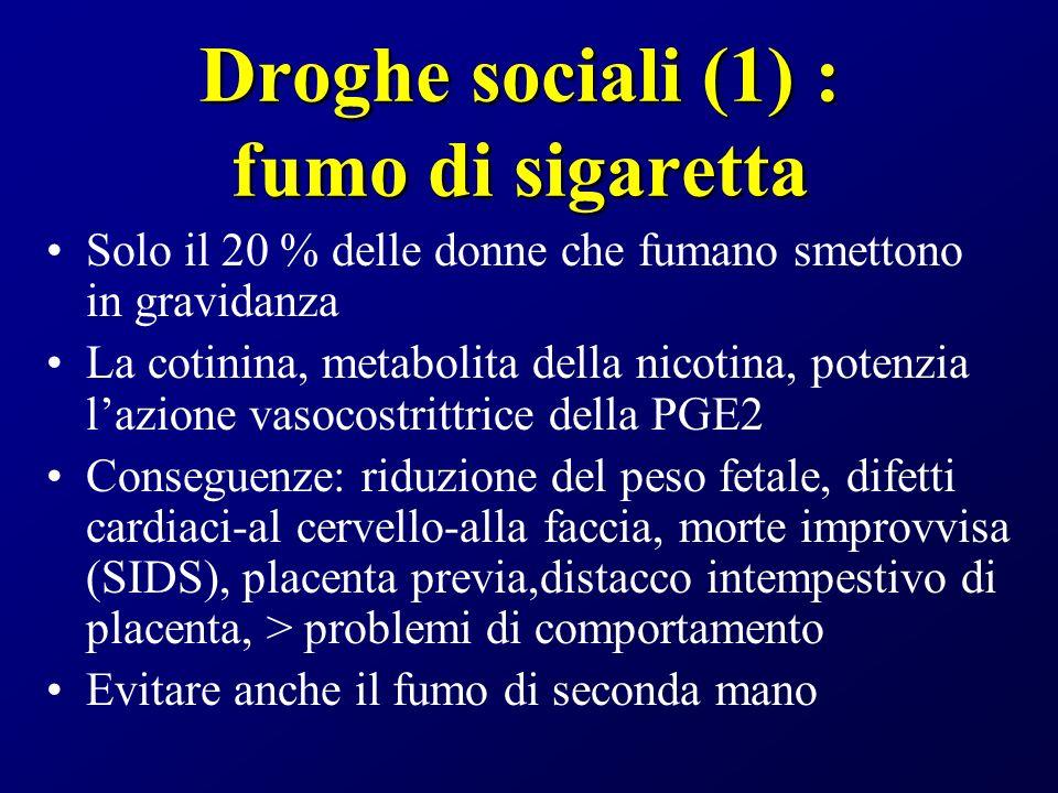 Droghe sociali (1) : fumo di sigaretta
