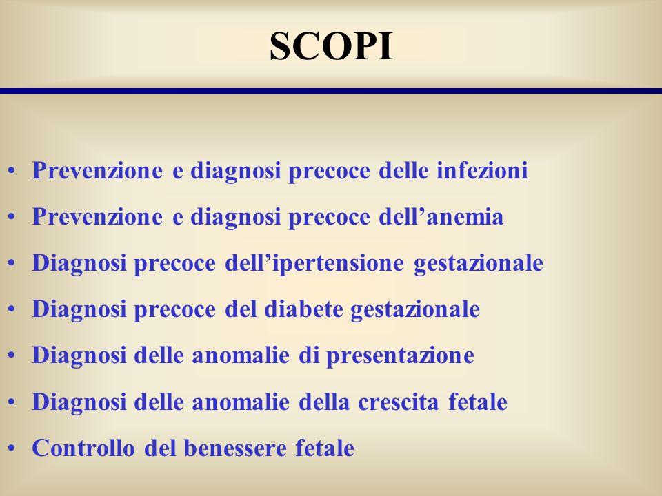 SCOPI Prevenzione e diagnosi precoce delle infezioni