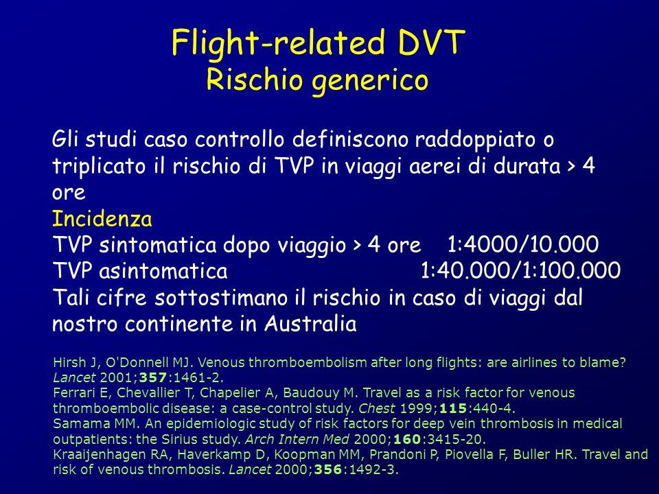 Flight-related DVT Rischio generico