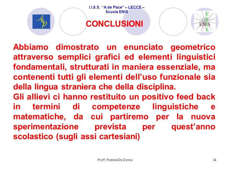 I.I.S.S. A. De Pace Scuola ENIS