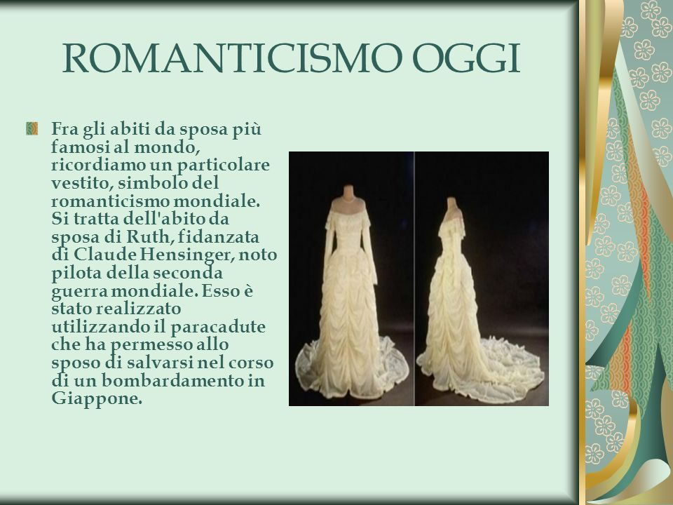 ROMANTICISMO OGGI
