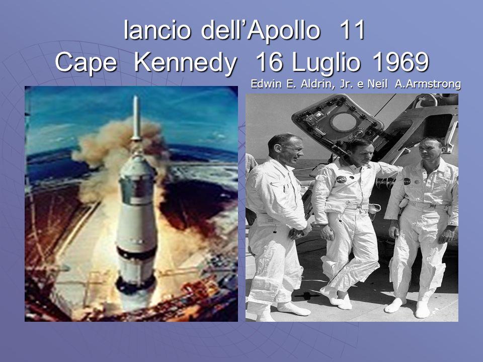 lancio dell'Apollo 11 Cape Kennedy 16 Luglio 1969