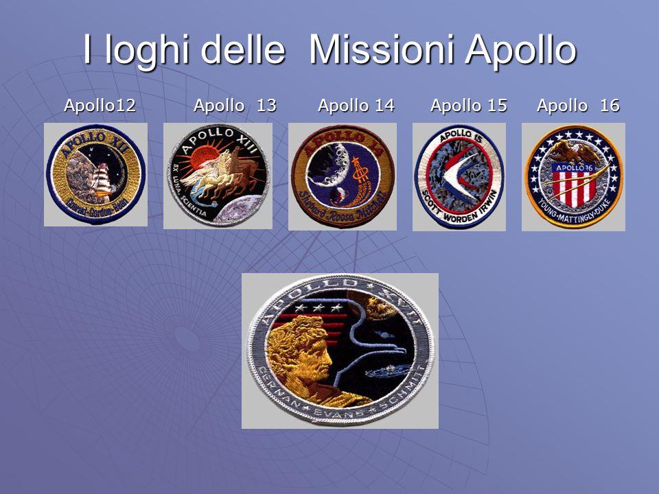 I loghi delle Missioni Apollo