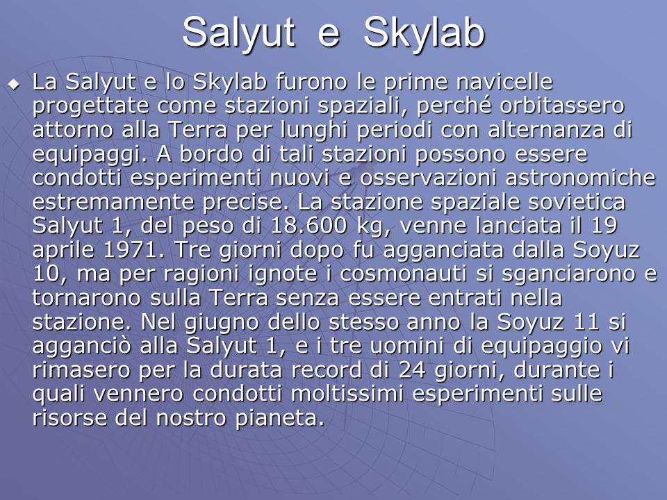 Salyut e Skylab