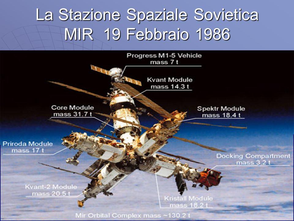 La Stazione Spaziale Sovietica MIR 19 Febbraio 1986