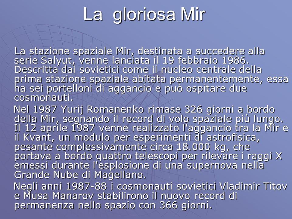 La gloriosa Mir