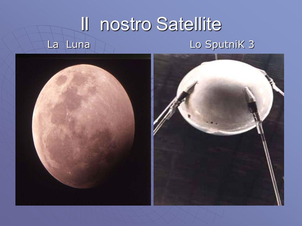 Il nostro Satellite La Luna Lo SputniK 3
