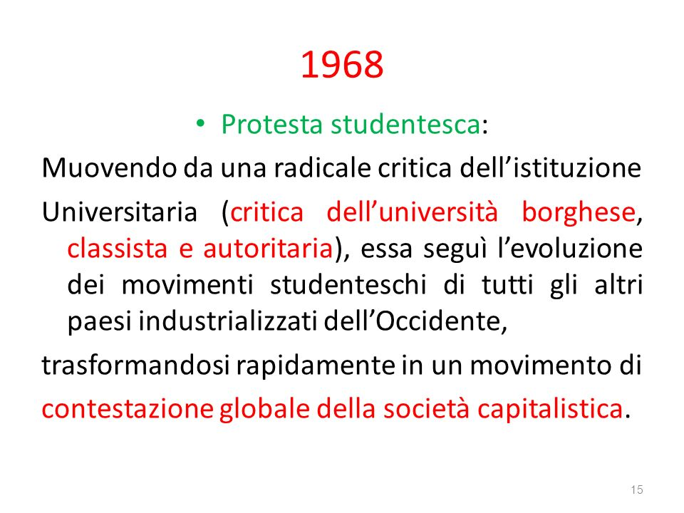 Protesta studentesca: