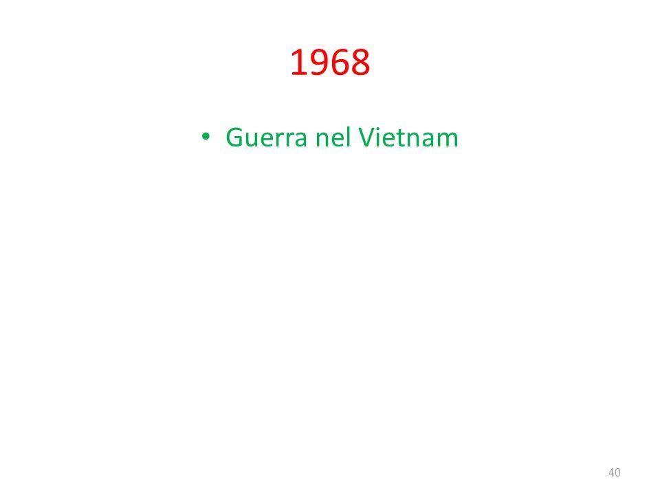 1968 Guerra nel Vietnam