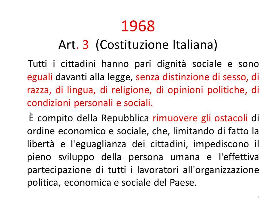 Art. 3 (Costituzione Italiana)