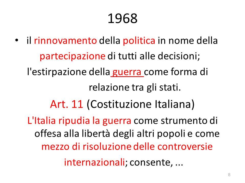 1968 Art. 11 (Costituzione Italiana)