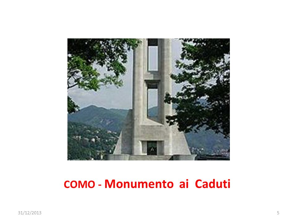 COMO - Monumento ai Caduti