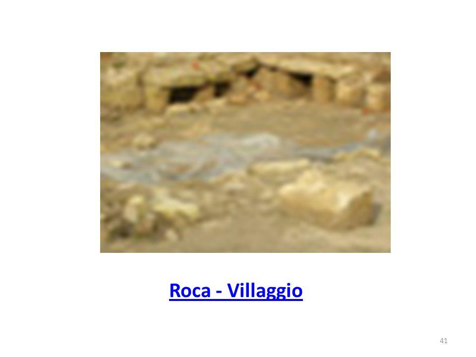 Roca - Villaggio