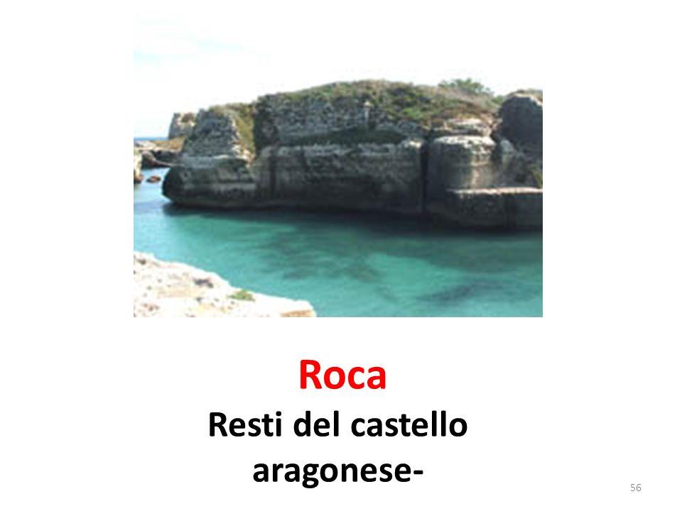 Roca Resti del castello aragonese-