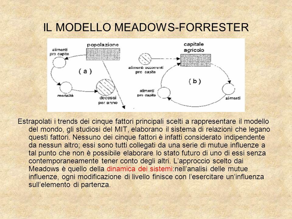 IL MODELLO MEADOWS-FORRESTER