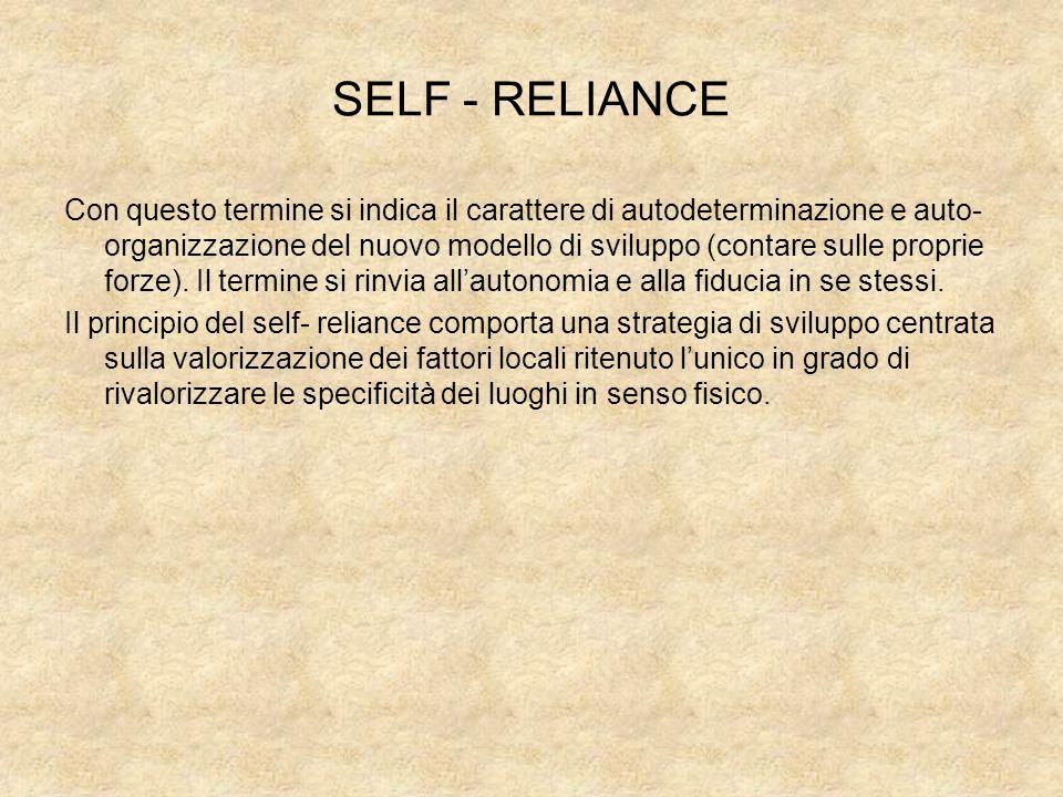SELF - RELIANCE