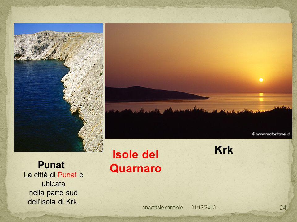 Isole del Quarnaro Punat Krk La città di Punat è ubicata