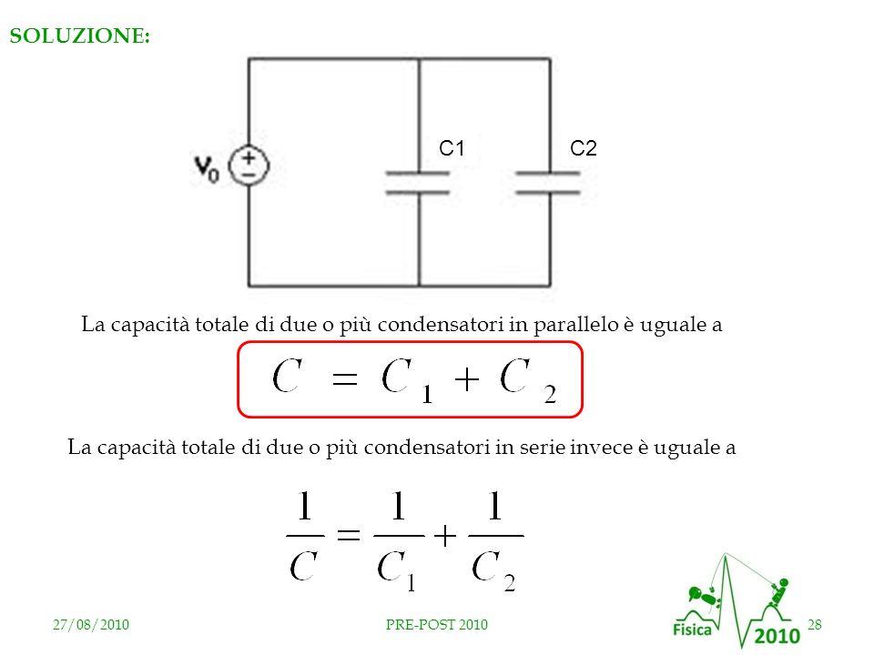 RISPOSTA E SOLUZIONE: C2 C1